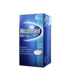Nicotinell 1 mg sugetabletter for røykeslutt mint 96 stk