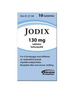 Jodix 130 mg 10 tabletter