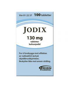 Jodix 130 mg 100 tabletter