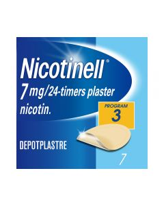 Nicotinell 7 mg depotplaster for røykeslutt 7 stk