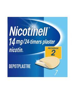 Nicotinell 14 mg depotplaster for røykeslutt 7 stk