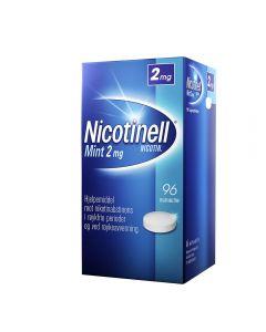 Nicotinell 2 mg sugetabletter for røykeslutt mint 96 stk