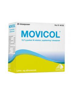Movicol pulver til mikstur 20 doser