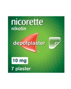 Nicorette depotplaster 10mg/16timer 7stk
