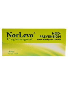 Norlevo tablett 1,5 mg