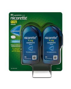 Nicorette sugetablett coolmint 4 mg 4x20 stk