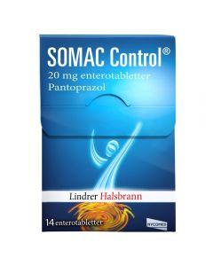 Somac Control enterotabletter 20 mg 14 stk