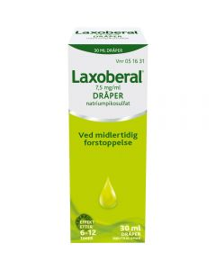 Laxoberal dråper 7,5 mg/ml 30 ml