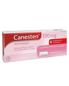 Canesten 6 dagers vaginaltabletter med applikator 100 mg