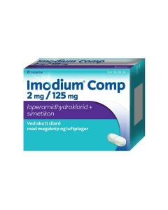 Imodium Comp Tab 8 stk