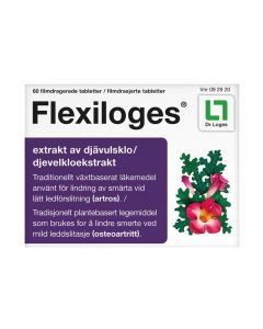 Flexiloges 60 stk filmdrasjerte tabletter