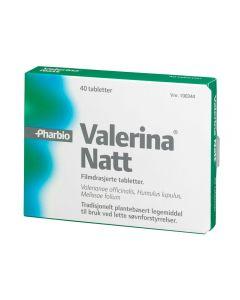 Valerina Natt tabletter 40 stk