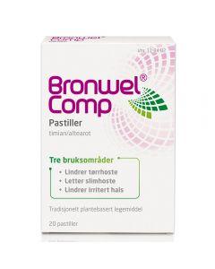 Bronwel Comp sugepastiller 20 stk