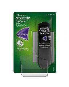 Nicorette munnspray 1mg/dose 150 doser