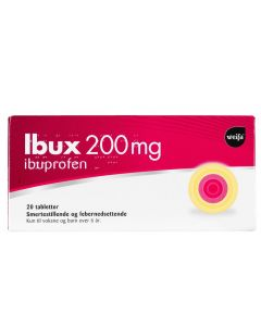 Ibux tabletter 200 mg 20 stk