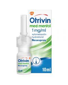 Otrivin nesespray mentol 1 mg/ml 10 ml