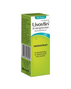 Livostin nesespray 50 mcg/dose 150 doser