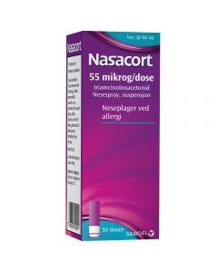 Nasacort nesespray 55 mcg/dose 30 doser