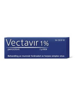 Vectavir krem 1% 2g