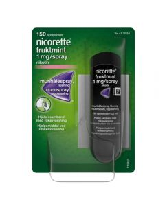 Nicorette Munnspray Fruktmint 1 mg 150 doser