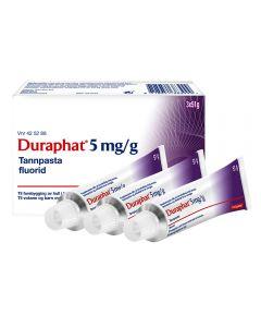 Duraphat 5 mg/g tannpasta 3x51 gram