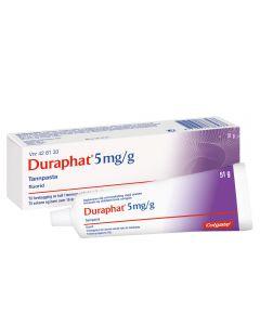 Duraphat 5 mg/g tannpasta 51 gram