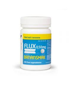 Flux sugetabletter banan 0,50 mg 200 stk