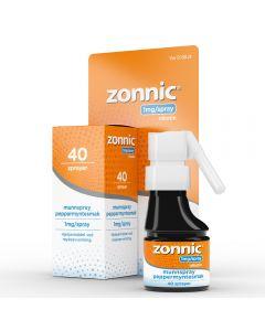 Zonnic 1 mg/dose munnspray peppermynte 40 doser