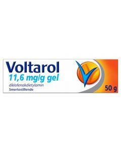 Voltarol gel 11,6 mg/g 50g