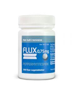 Flux sugetabletter 0,75 mg 200 stk