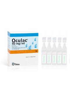 Oculac øyedråper 50 mg/ml 0,4 ml 20 stk