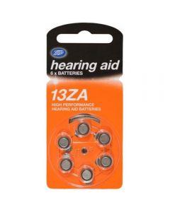 Boots batteri for høreapparat 13Za 6 stk