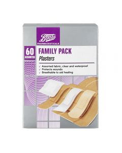 Boots Pharmaceuticals plaster 60 stk