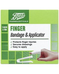 Boots Pharmaceuticals Finger Bandage & Applicator