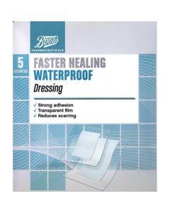 Boots Pharmaceuticals Faster Healing vnntett kompress 5 stk