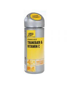 Boots Tranebær 400mg & Vitamin C 50mg 100 stk