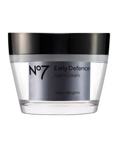 No7 Early Defence nattkrem 50 ml