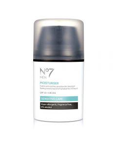 No7 Men Sensitive Moisturiser 50 ml