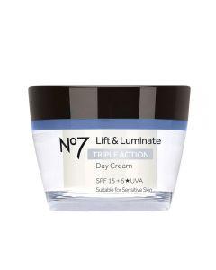 No7 Lift & Luminate Triple Action dagkrem 50 ml