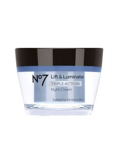 No7 Lift & Luminate Triple Action nattkrem 50 ml