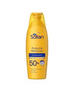 Soltan Protect & Moisturise Suncare Lotion spf 50+ 200 ml
