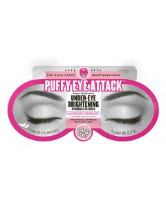 Soap & Glory Puffy Eye Attack  Under Eye Brightening Hydrogel Patches  8.8 g