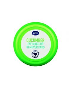 Boots Essentials Cucumber Eye Make Up Remover Pads 40st