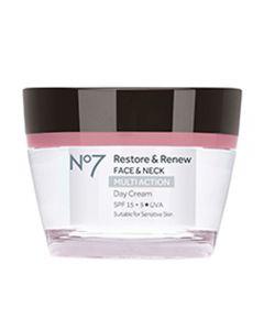 No7 Restore & Renew Face & Neck Multi Action Day Cream SPF15 50ml