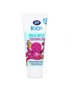 Boots Kids Mint Tannkrem 3-5 år 75ml