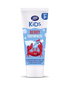 Boots Kids Berry Tannkrem 3+ år 75ml