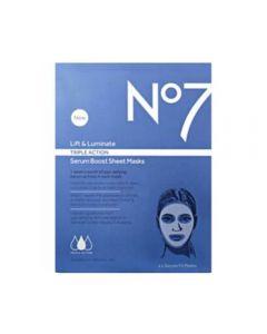 No7 Lift & Luminate Triple Action Serum Sheet Mask