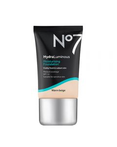 No7 HydraLuminous Moisturising Foundation SPF15 Warm Beige 30ml