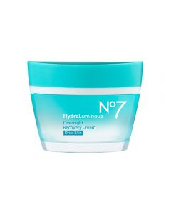 No7 HydraLuminous Overnight Recovery Cream for Drier Skin 50ml