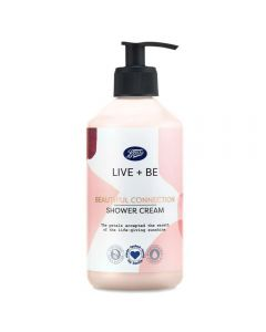 Boots Live + Be Beautiful Connection Shower Cream 350ml